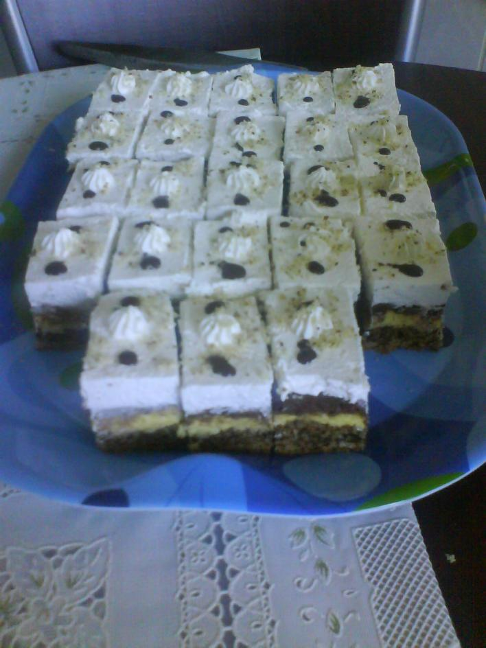 Diós-kókuszos sütemény