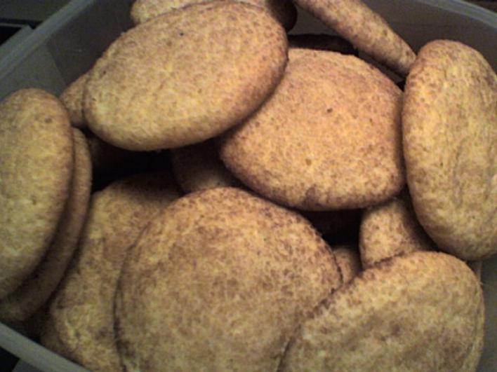 Snickerdoodles - Fahéjas Cookie