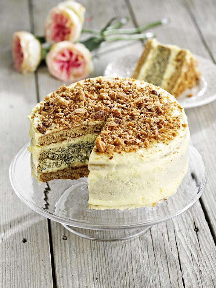 Mézes-mákos torta
