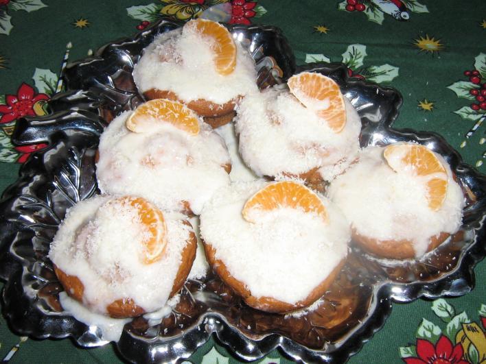 Mandarinos muffin