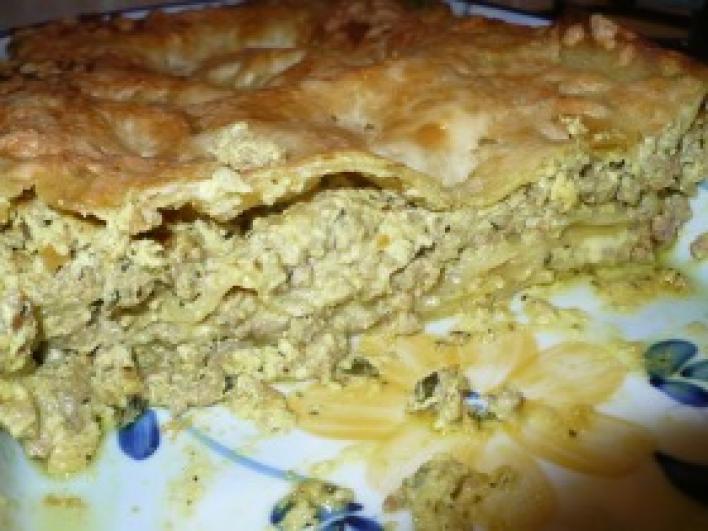 Tejszínes-currys lasagne