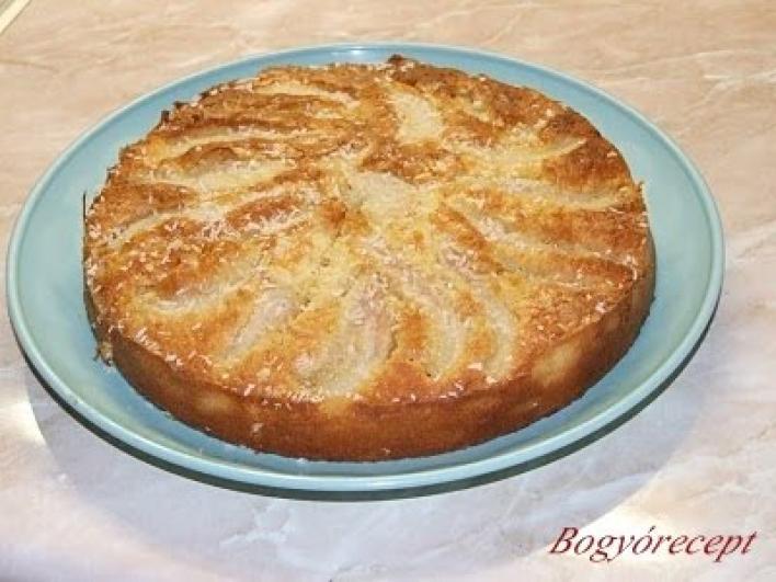 Kókuszos, sárgabarackos sütemény