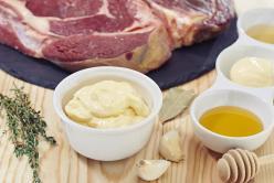 Steak pác mézzel, zöldfűszerekkel
