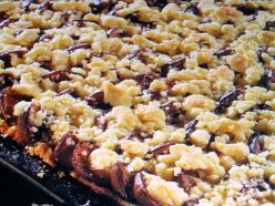 Szilvás lepény morzsolt tésztával