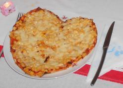 Szívecske pizza