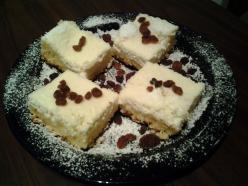Bögrés túrós sütemény