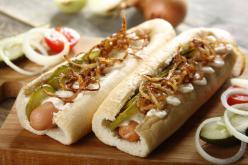 Hot dog házilag