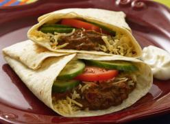Mexikói zöldséges fajitas