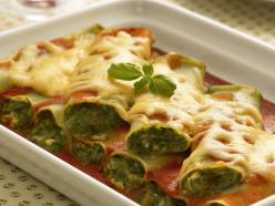 Spenótos cannelloni
