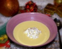 Karácsonyi borkrém leves