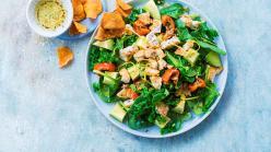 Spenót és kelkáposzta saláta