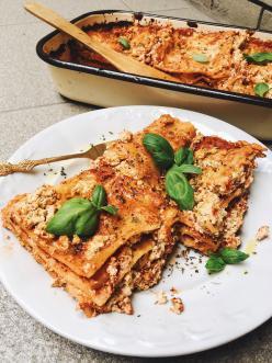 Vegán Lasagne - Noraspiration konyhájából
