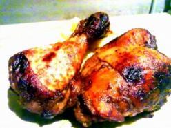 Illatos-fűszeres sült csirke