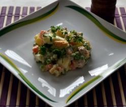 Olivier saláta (Orosz saláta)