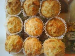 Kétsajtos túrós csoda muffin