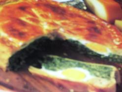 Genovai húsvéti pite (spenóttal,tojással, túróval)