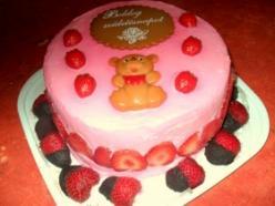 Epres mascarponés torta