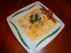 Tejfölös krumpli leves
