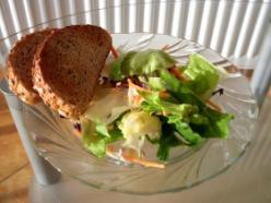 Színes saláta