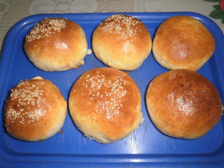 Sajtos hamburger elkészítés 1. lépés képe