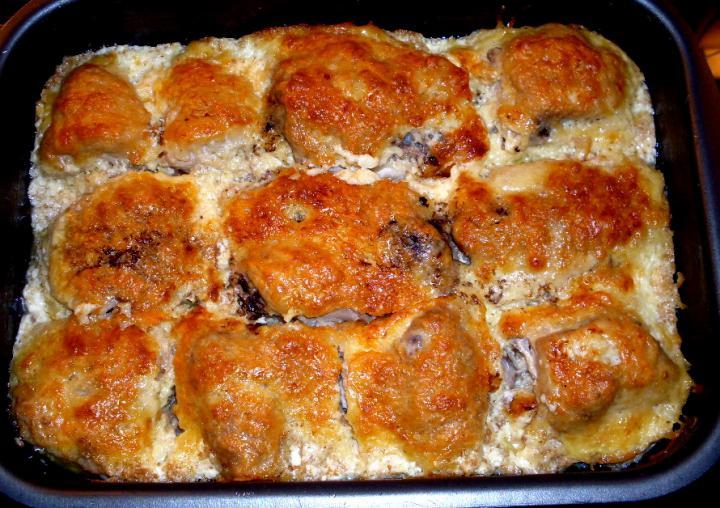 Sajtban sült rántott csirke elkészítés 4. lépés képe