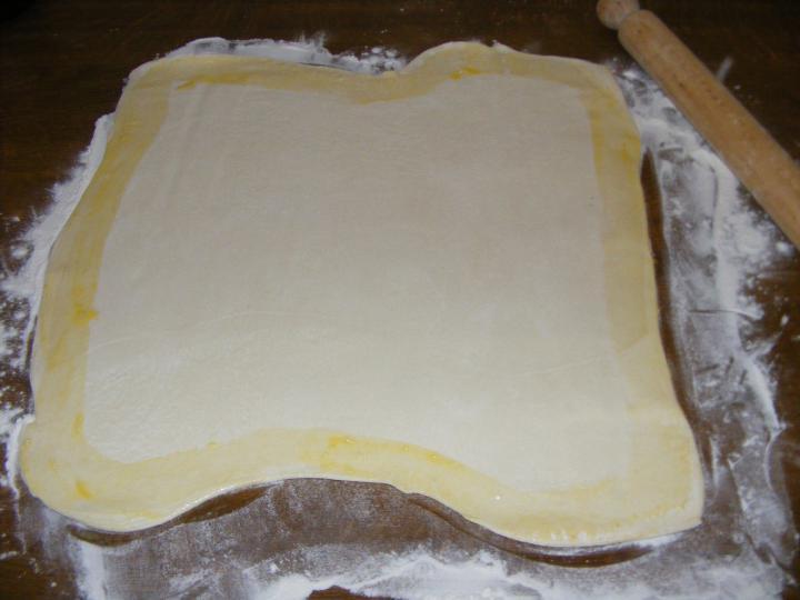 Rozmaringos csirkésrétes elkészítés 3. lépés képe