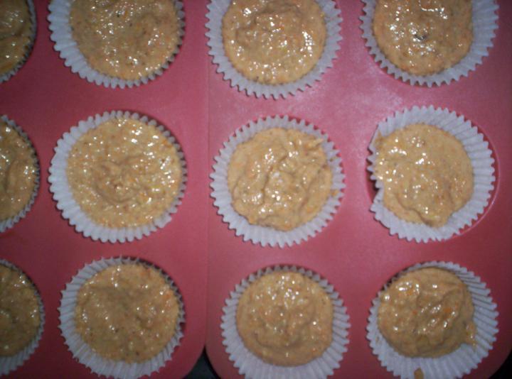 Sütőtökös muffin elkészítés 1. lépés képe