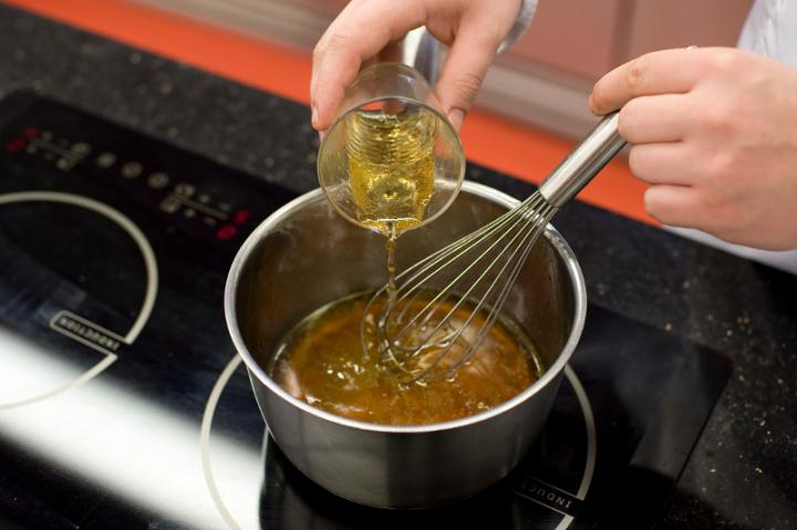 Zöldbors mártás elkészítés 3. lépés képe