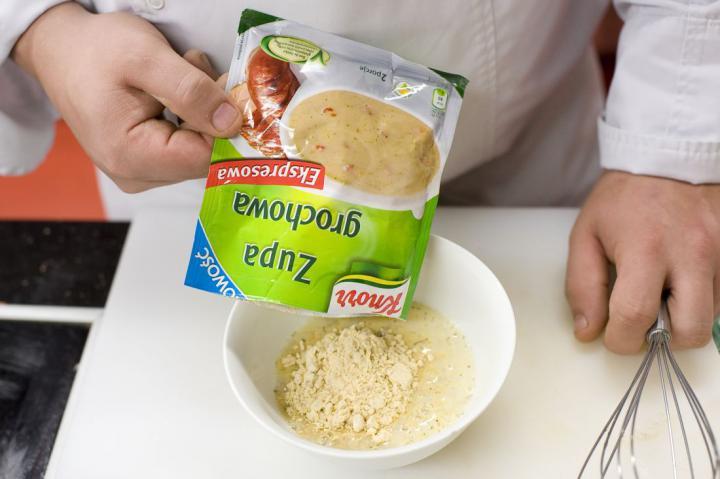 Sárgaborsó leves elkészítés 5. lépés képe