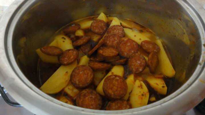 Paprikás krumpli elkészítés 6. lépés képe