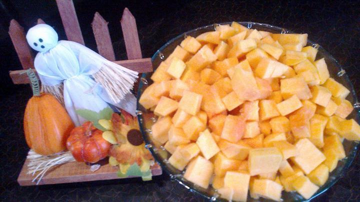 Rozmaringos libacomb sütőtök chutney-val elkészítés 1. lépés képe