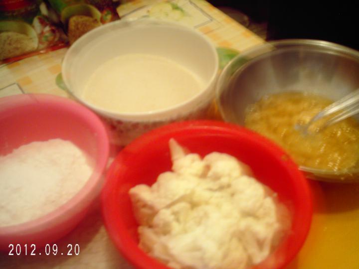 Rántott csirke és karfiol elkészítés 4. lépés képe