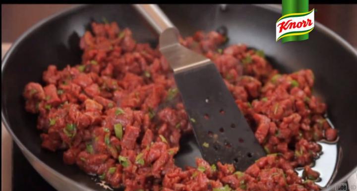Burritos elkészítés 2. lépés képe