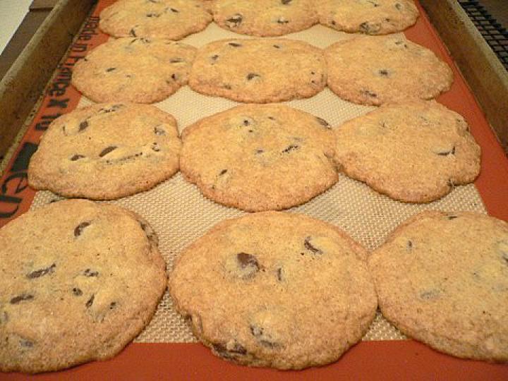 Amerikai cookies elkészítés 4. lépés képe