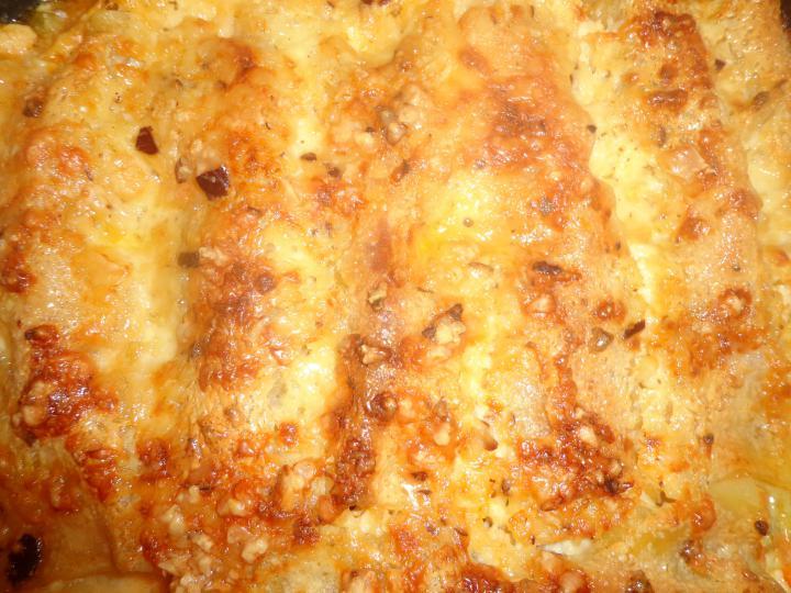 Cannelloni paprikás csirke maradékból elkészítés 3. lépés képe