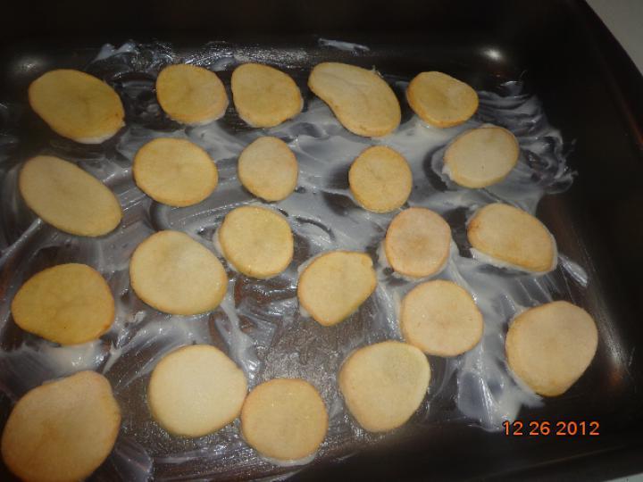 Krumplin sült libamájas szűzérme elkészítés 4. lépés képe