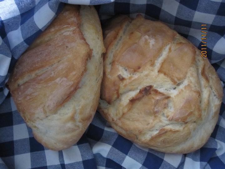 Fehér kenyér sütőzacskóban sütve elkészítés 4. lépés képe