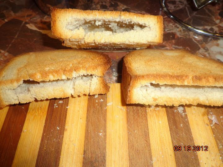 Fokhagymás pirított töltött kenyér elkészítés 1. lépés képe