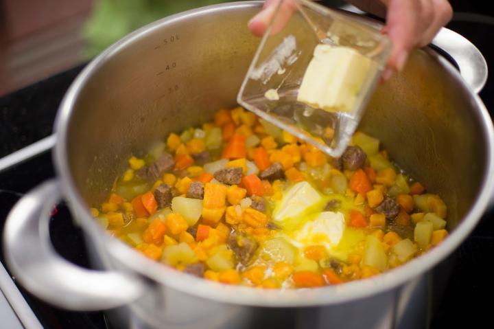 Cymes marhából elkészítés 4. lépés képe