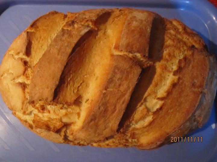 Fehér kenyér sütőzacskóban sütve elkészítés 3. lépés képe