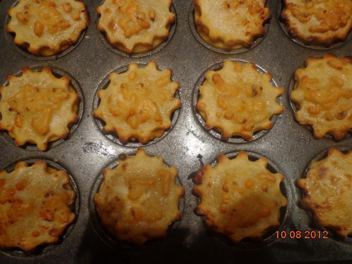 Csirkés kosárkák elkészítés 7. lépés képe
