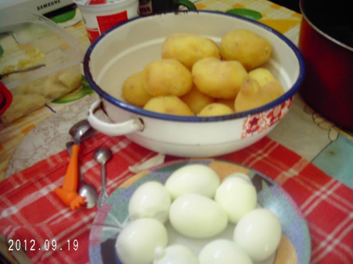 Rakott burgonya elkészítés 1. lépés képe