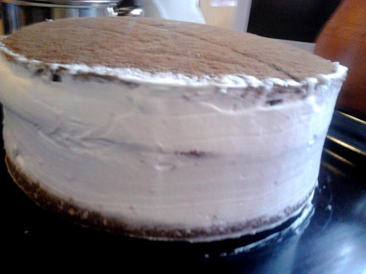 Feketeerdő torta xilittel elkészítés 9. lépés képe
