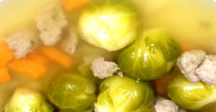 Kelbimbó leves májgombóccal elkészítés 5. lépés képe
