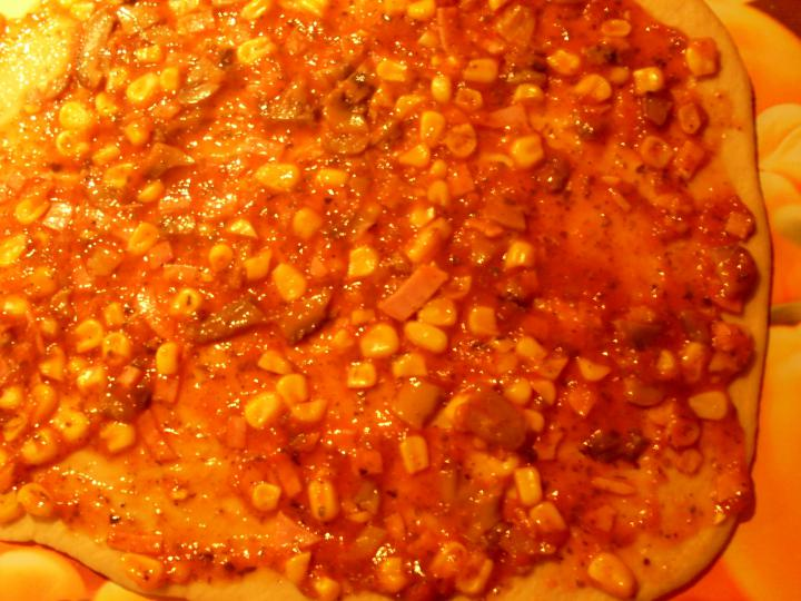 Reform mini pizzás csigák elkészítés 5. lépés képe