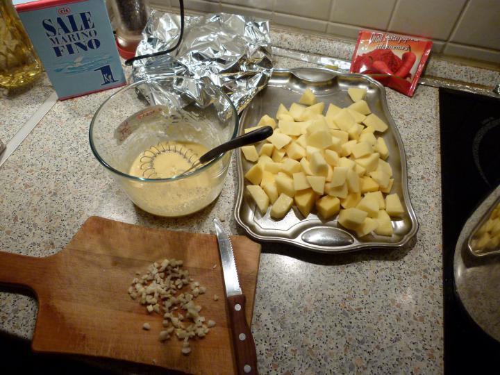 Zöldbabos gulyásleves elkészítés 5. lépés képe