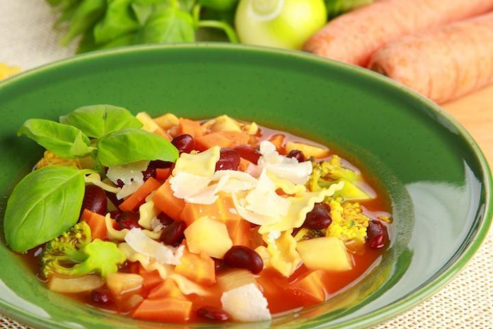 Minestrone leves elkészítés 1. lépés képe