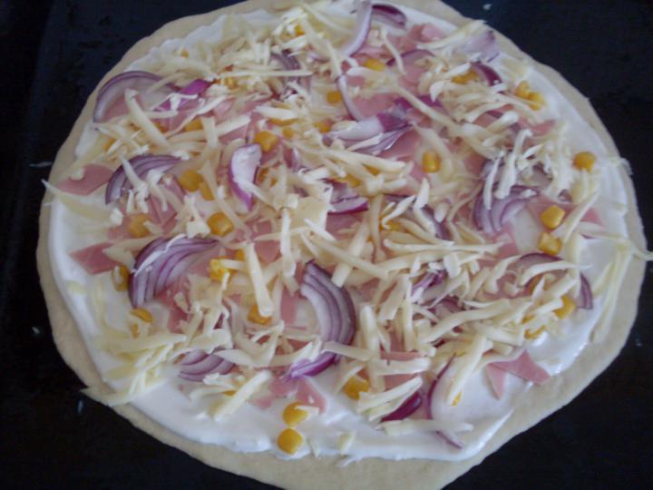 Pizza elkészítés 3. lépés képe