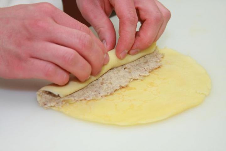 Lengyel húsos palacsinta elkészítés 4. lépés képe