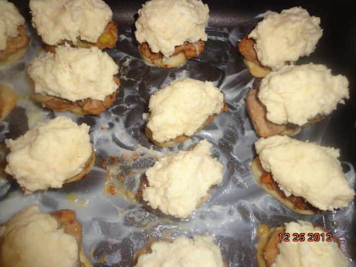 Krumplin sült libamájas szűzérme elkészítés 7. lépés képe